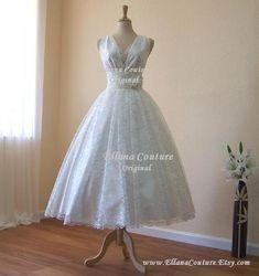 45 Beautiful Wedding Dresses Lace Vintage Style Ideas