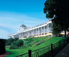 Mackinac Island's @Grand Hotel named as one of America's Best All-Inclusive Resorts by Travel + Leisure