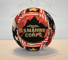United States Marine Corps Ornament by Craft Crazy 4u.