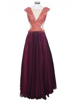 Vestido color vino con transparencia y bordado integro.  #graduacion #15 #matrimonio #fiesta #vestidos #wedding #party #dress #fashion #style #design #outfit #shopping #glam