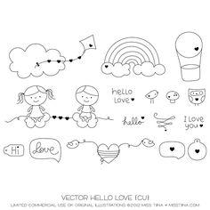 Even more Life Free : Love Life + free printable garland!   MissTiina.com {Blog}