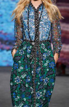 Anna Sui - New York Fashion Week - Fall 2015
