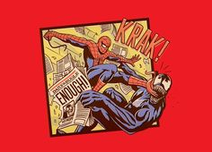 """Thwip, Thwip, Krak!"" - Threadless.com - Best t-shirts in the world"