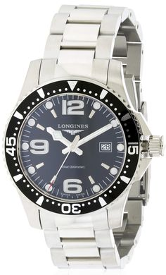 Longines HydroConquest Mens Watch L36404566. 39mm case.