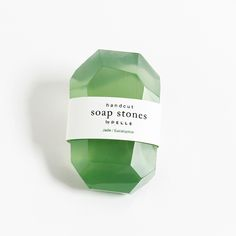 Image of Soap Stones by PELLE: Jade/Eucalyptus Stone 6oz