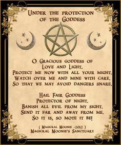 Wiccan Prayer for Money