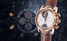 18K 5N Rose Gold - Astralis - Unique piece - Mercury - Astralis - Extraordinary Pieces - Louis Moinet