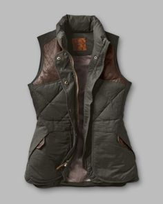 Eddie Bauer Women's 1936 Skyliner Model Hunting Vest, Alpine Green Eddie Bauer, Looks Style, Looks Cool, Style Me, Fall Winter Outfits, Autumn Winter Fashion, Hunting Vest, Coyote Hunting, Pheasant Hunting