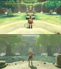 Skyward sword ↔️ Breath of the wild - Anime Memes The Legend Of Zelda, Legend Of Zelda Memes, Legend Of Zelda Breath, Legend Of Zelda Tattoos, Cry Anime, Anime Art, Video Game Art, Video Games, Link Lobo