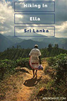 Breathtaking Hikes Above 2000m - Hiking in Ella Sri Lanka -Nerd Nomads