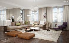 Contemporary Apartment by Irena Poliakova | HomeAdore