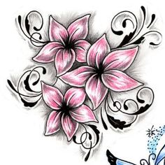 My soon to be family tattoo (different colors tho)
