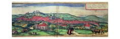 View of the City of Burgos Giclée-Druck