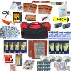 4 Person Perfect Survival Kit Deluxe for Earthquake, Evacuation, Emergency Disaster Preparedness 72 Hour Kits for Home, Work or Auto: 4 Person Emergency Survival Kit, Outdoor Survival, Survival Prepping, Survival Gear, Survival Skills, Survival Equipment, Urban Survival, Best Bug Out Bag, Earthquake Kits