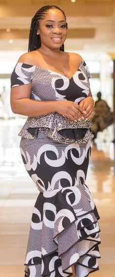 kaba and slit dress by moesha bouduong, African fashion, Ankara, kitenge, African women dr… – African Fashion Dresses - 2019 Trends African Fashion Designers, African Inspired Fashion, Latest African Fashion Dresses, African Dresses For Women, African Print Dresses, African Print Fashion, African Attire, African Wear, African Prints