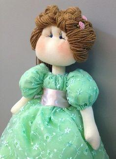 Lilly - Boneca de pano