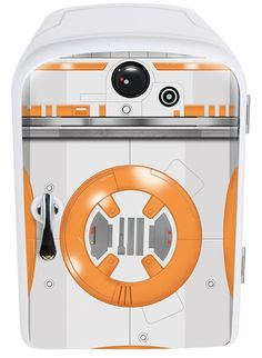 rogeriodemetrio.com: Star Wars BB8 4Liter Mini Fridge