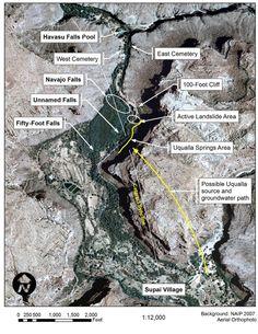 Havasupai Falls Tours Directions | Havasupai Falls Map Havasupai Falls, Grand Canyon In March, Grand Canyon South Rim, Oh The Places You'll Go, Places To Travel, Arizona Travel, Visit Arizona