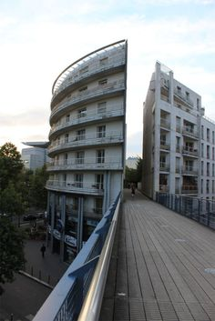 A section of the Promenade plantée, an elevated linear park in Paris
