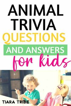 Animal Trivia Questions and Answers for Kids