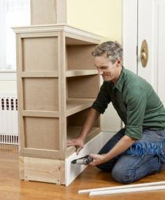 Install the Baseboard Molding