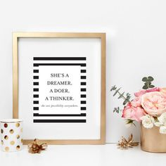 Dreamer, Doer, Thinker Print - The TomKat Studio Shop
