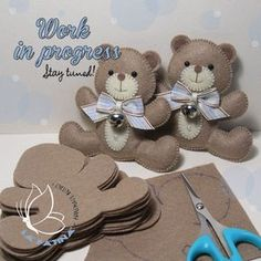 Creazioni personalizzate in pannolenci imbottito - Felt Handmade Creations Custom creations in padded felt - Felt Handmade Creations Baby Crafts, Felt Crafts, Diy And Crafts, Shower Bebe, Baby Boy Shower, Felt Patterns, Craft Patterns, Craft Projects, Sewing Projects