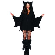 Bat Cozy Adult Large