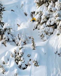 Breaking trail for generations of riders for years to come. People like @devwalsh helped shape Whistler into the freestyle mecca that it is today. Learn more in our Origins Extended cut now on TWSNOW.com. @whistlerblackcomb Photo: @scottserfas #twsnow #snow #snowboarding #whistler