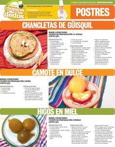 Cocinas y Recetas: Postres de temporada