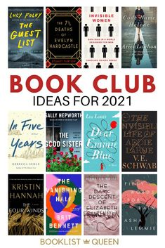 Don't miss these book club books for women. From uplifting book club books to nonfiction books club about gender, your book club will have plenty of books to read in 2021. Good book club books can be hard to find, so I've compile a great book club list. Book Club Recommendations, Book Club List, Best Book Club Books, Great Books, Book Lists, New Books, Books To Read, Book Club Names, Uplifting Books