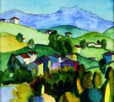 Cortivallo - Aquarell 22.09.1926
