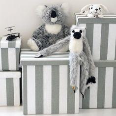 T285 Set of 5 Storage Box - Grey