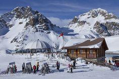 Corviglia. St. Moritz, Switzerland. Skied it.
