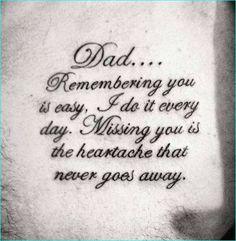 70 Dad Tattoos For Men - Memorial Ink Design Ideas - Marry Ko. - 70 Dad Tattoos For Men – Memorial Ink Design Ideas – - Daddy Tattoos, Father Tattoos, Girl Tattoos, Tattoos For Guys, Tattoo Dad, Tatoos, Daughter Tattoo Father, Tattoos About Love, Tattoos For Brothers