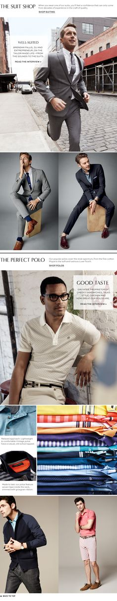Men's Apparel: shirts, pants, polos, jeans, suits, blazers, outerwear, shoes & accessories | Banana Republic