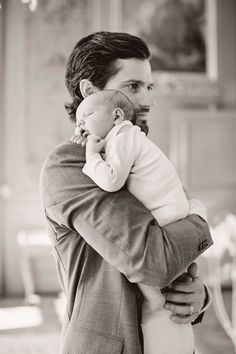 Father and Son new photo of Prince Carl Philip and baby Prince Alexander of…