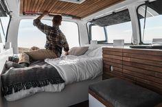 Man quits desk job to transform van into a digital nomad's dream home Converted van by Zach Both – Inhabitat - Green Design, Innovation, Architecture, Green Building
