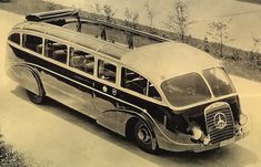Our mass transit future looked much cooler in the mid-20th century, with these slick bus designs. Just imagine taking to the roads in these retrofuturistic buses.