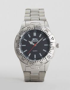 119f79ab186 Get this SLAZENGER s watch now! Click for more details. Worldwide shipping.  Slazenger Silver