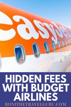 Flying budget airlines such as Easy Jet or Jet Blue can be a great way to save some money while traveling. Find out where hidden fees might happen and how to avoid them with my tips. Packing Tips For Travel, Budget Travel, Before You Fly, Easy Jet, Tips Online, Group Travel, When You Know, Ways To Save, Solo Travel