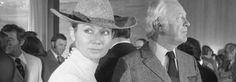 Curd Jürgens und seine Frau Simone waren gern gesehene Gäste in Kultur und…