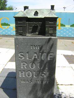 The Slate Roof House