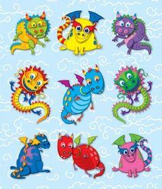Carson Dellosa Dragons Prize Pack Stickers (168040) Carso