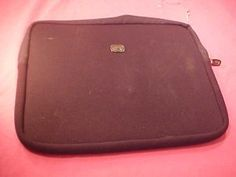 Laptop Bag by Fellowes with Rare Wet Suit Body Glove Fabric