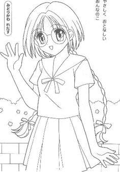 IMMAGINI DA COLORARE DI MEW MEW - ** Topmanga anime e manga