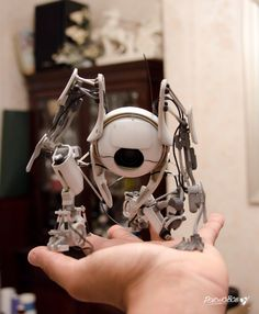 3-D Printed Atlas - This guy made a sculpture of Portal 2's Atlas using a 3-D printer.  Lots of work, but the result is pretty cool.