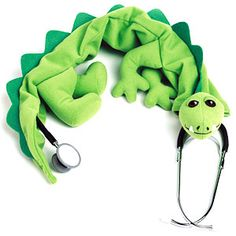 Adorable stethoscope cover - when working with the kiddos