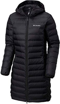 175e03d3012 Amazon.com  Columbia Women s McKay Lake Long Down Hooded Winter Jacket  Black (Small)  Clothing