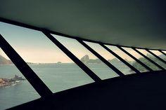 MAC - Niterói  #Museudeartecontemporaneadeniteroi #niteroi #brazil #photography  #sugarloaf #pãodeaçúcar